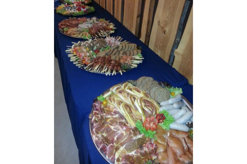 Onze catering is verrukkelijk!