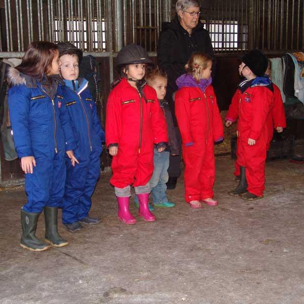 Kleine boeren en boerinnetjes