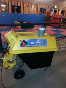 Ballenwasmachine